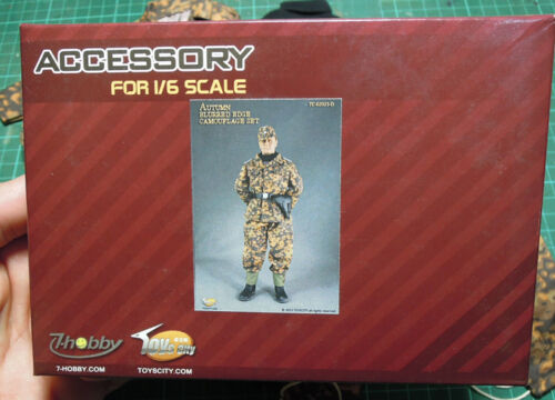 Toycity 1//6 Wehrmacht camouflage set TC-62025D