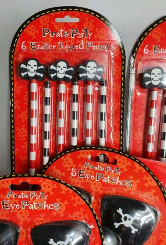 PIRATE PARTY 52 PIECE FAVOURS PACK FOR PARTY FILLER BAGS