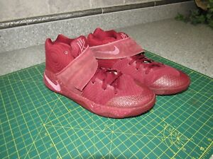 cozy fresh a9750 df353 Image is loading Nike-Kyrie-2-GS-826673-600-Maroon-Knit-