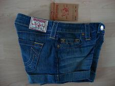 TRUE RELIGION Jeans ALLIE CLASSICS WOMEN Damen Jeans Short Gr.27 NEU mit ETIKETT