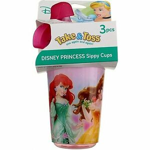 The-First-Years-Take-amp-Toss-Disney-Sippy-Cups-Disney-Princess-10-oz-3-Ct