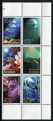 Motive Niederländische Antillen 2007 Meerestiere Fische Schildkröte Fish 1553-1558 Mnh QualitäT Und QuantitäT Gesichert Briefmarken