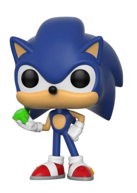 Funko Pop Games Sonic With Emerald 284 For Sale Online Ebay