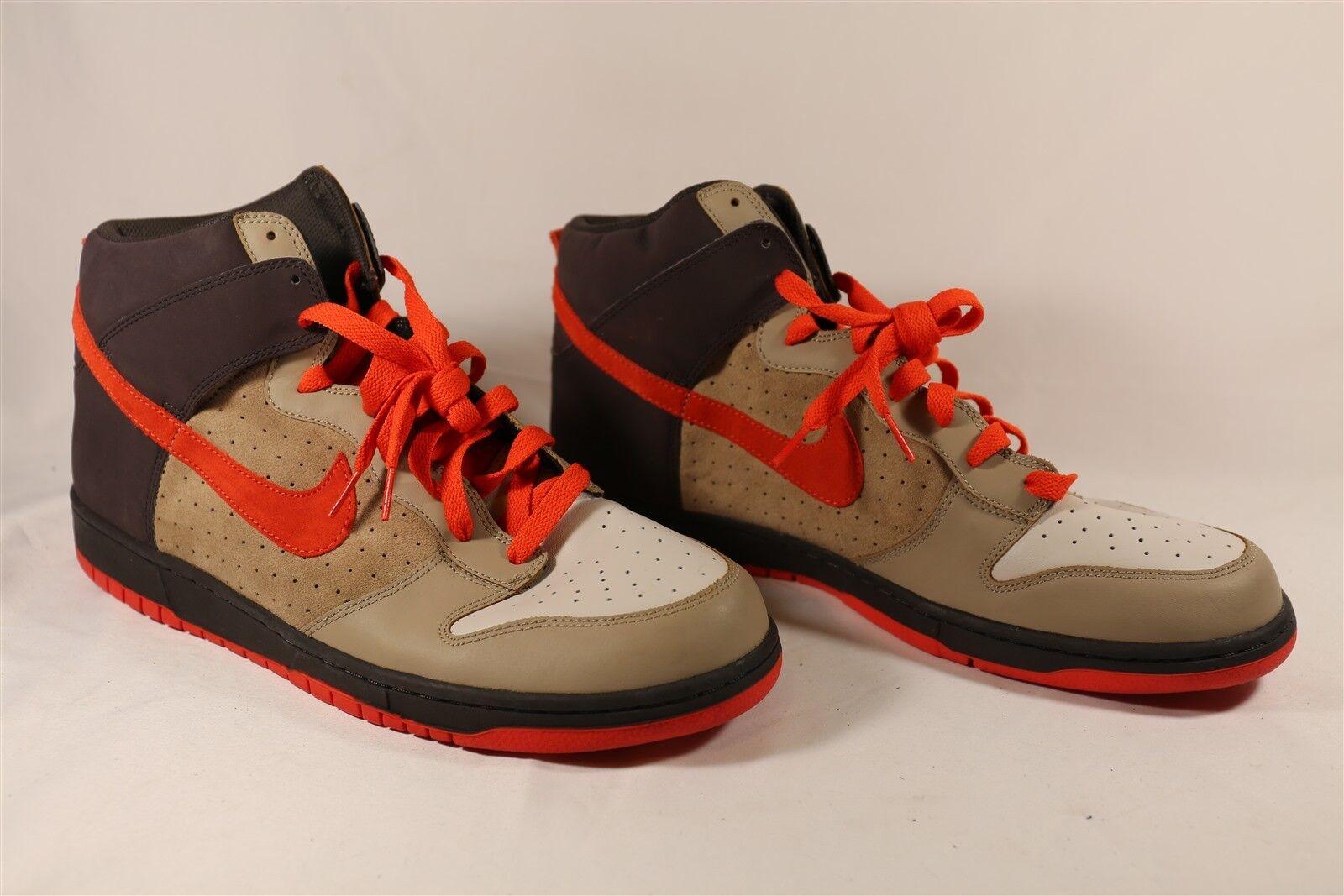 MENS NIKE DUNK HIGH BONE TEAM orange 317982 081 US shoes Size 15