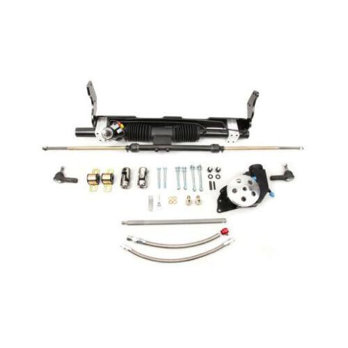 Unisteer 58-64 Chevy Small Block SWP Power Rack Pinion Ididit Column 8011120-01