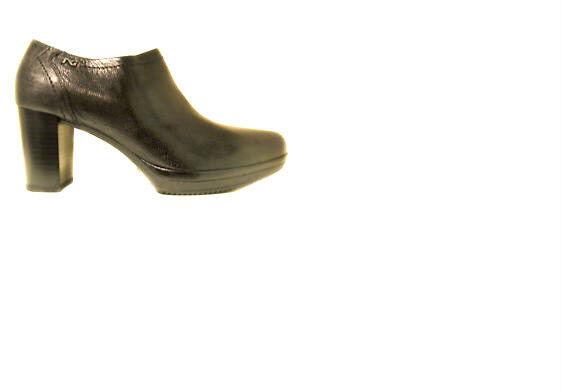 Stivaletto pelle alla caviglia NEROGIARDINI A411731D