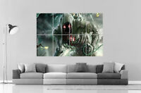 Fantasy Et Science Fiction Monsters Monstre Wall Art Poster Grand Format A0