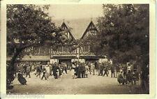 Carte postale, DEAUVILLE, l'Hippodrome de Clairefontaine, écrite au revers.