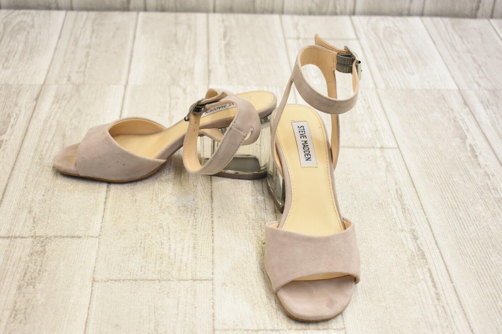 651684127c3 Steve Madden Debbie Heel Sandal - Women's 7M, Grey Size ntrirx860 ...