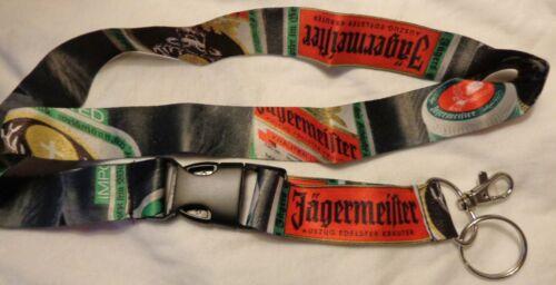 Jagermeister Lanyard Keychain credentials holder...NEW V.I.P