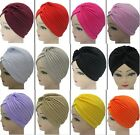 Admiring Unisex Indian Style Stretchable Turban Hat Hair Head Wrap Cap Fashion
