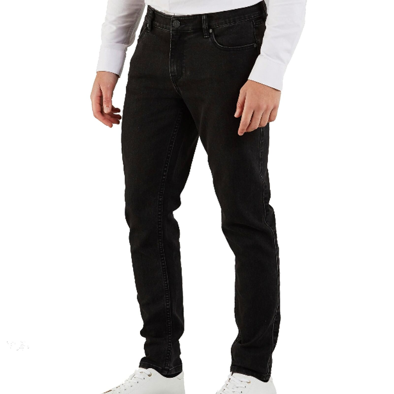 Farah Howells Stretch Denim Charcoal