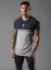 Gym-King-Mens-Short-Sleeve-Crew-Neck-Block-Panel-Taped-New-Slim-Fit-T-shirt-Tee thumbnail 8