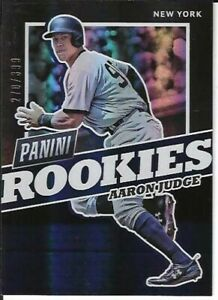 Aaron Judge New York Yankees 2017 Panini National Rookies Baseball #369/399