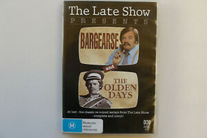 The-Late-Show-Presents-Bargearse-And-The-Olden-Days-Rare-ABC-DVD-Free-Post