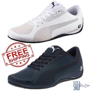a86de7ab Details about Men's Puma BMW Motorsport Drift Cat 5 Ultra Training Shoes  BLUE WHITE Sneaker