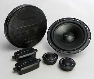 """Hifonics ZS65C Zeus 6.5"""" Two-Way Component Speakers"""