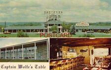 KEYSTONE MOTEL & CAPTAIN WOLF'S TABLE, NEW CUMBERLAND, PA.