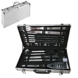 Valigetta Bbq Accessori Barbeque Alluminio Acciaio Inox Grigliata Brace Barbecue Smmpefqk-10041119-682769355