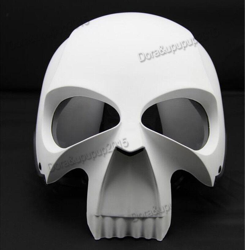 3D Skull Skeleton Motorcycle Helmet DOT Half Helmet Knight ...