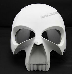 3D Skull Skeleton Motorcycle Helmet Half Helmet Knight ...