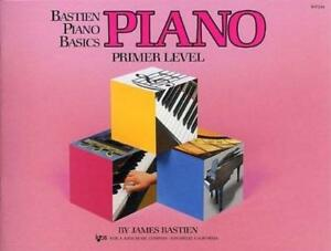 Bastien Piano Basics Primer Level by Bastien James  Paperback Book  97808497 - Leicester, United Kingdom - Returns accepted Most purchases from business sellers are protected by the Consumer Contract Regulations 2013 which give you the right to cancel the purchase within 14 days after the day you receive the item. Find out more abou - Leicester, United Kingdom