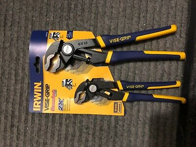 L Blue Irwin  Vise-Grip  2 pc Alloy Steel  Professional Pliers Set  6 in