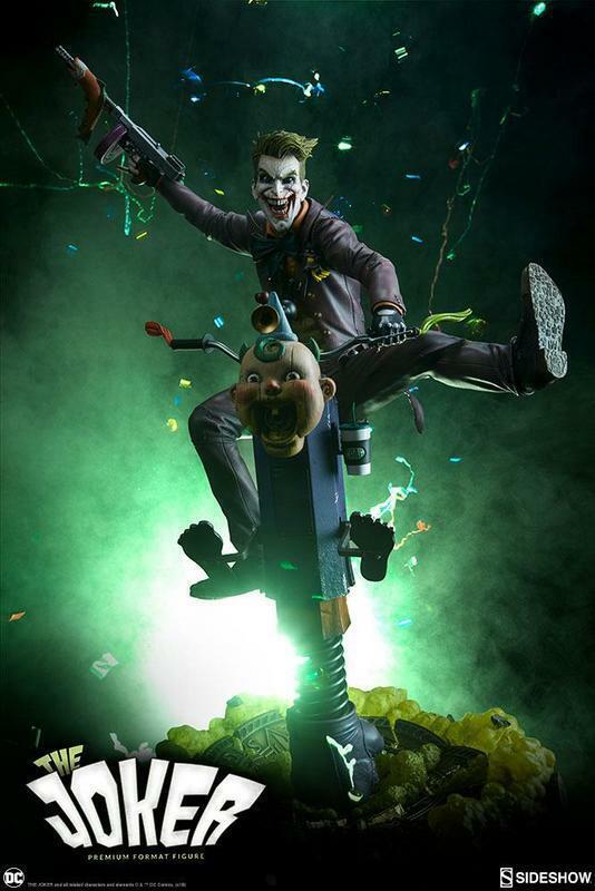 Dc Comics Statuetta Premium Formato Joker 63 Statua  300473  economico e di alta qualità