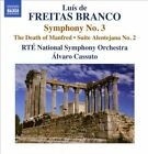 Lu¡s de Freitas Branco: Symphony No. 3; The Death of Manfred; Suite Alentejana No. 2 (CD, Apr-2010, Naxos (Distributor))