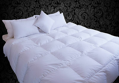 Guusdown Single Quilt Doona - 90% Goose Down - Made in Australia - Winter 4BL SQ