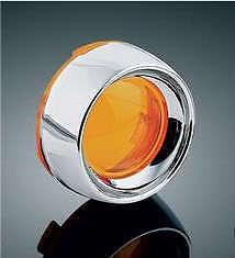 Honda VTX1300 R,S,T DEEP DISH amber turn signal lenses