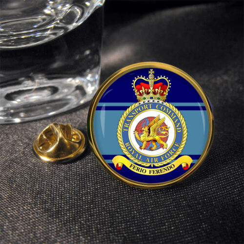 ® Lapel Pin Badge Gift RAF Transport Command Royal Air Force
