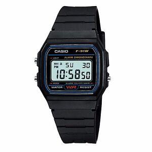 31207af0d5c5 La imagen se está cargando Retro-Clasico-Casio-F91W -Digital-Alarma-Cronometro-NUEVO-