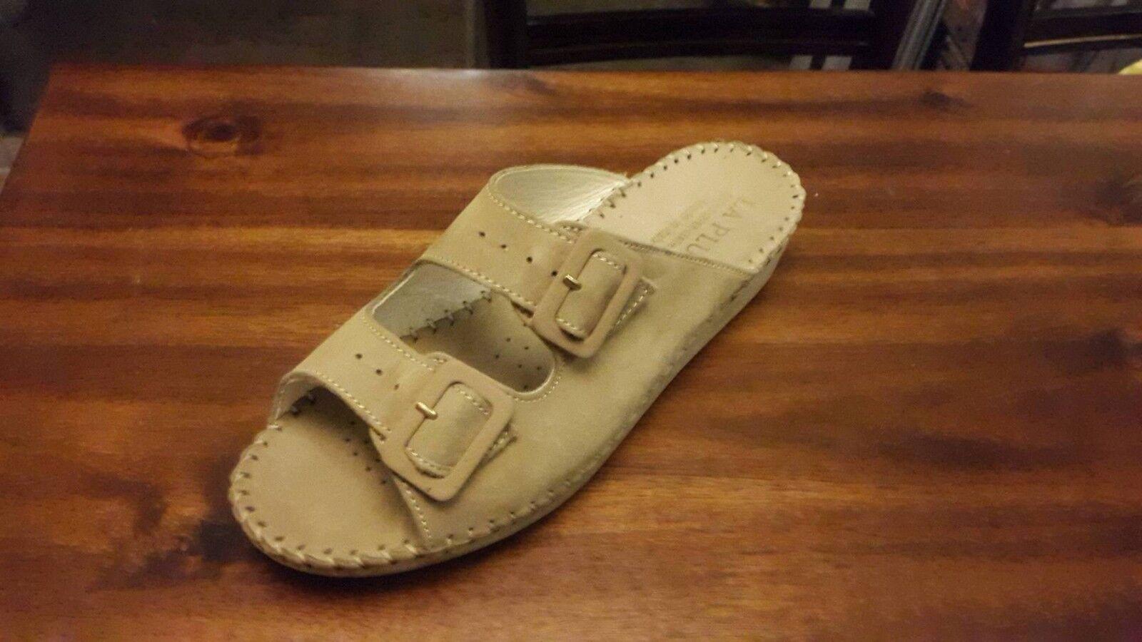 Nuevo La Plume Beige Nubuk Nubuk Beige Para mujeres Sandalias Zapatos 34308e