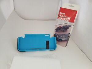 NEW Blue Hard Shell Case Cover Grip stand 4 Game slots for Nintendo Switch  #U3