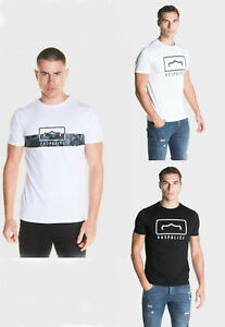 883-Police-Mens-Designer-Cotton-Crew-Neck-Graphic-Printed-Casual-Top-T-Shirt-Tee