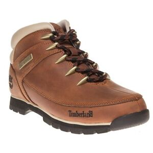 Image is loading New-Mens-Timberland-Tan-Brown-Euro-Sprint-Hiker-