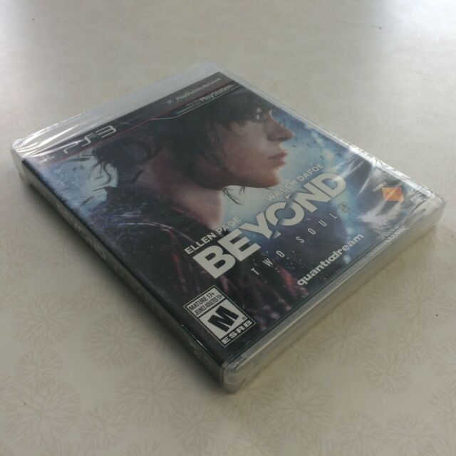 PS3 Beyond Two Souls Brand New Factory Sealed Free Same Day Shipping!!!