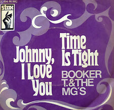 "7"" 1969 ORIG STAX VG++ BOOKER T & THE MGs Time Is Tight"