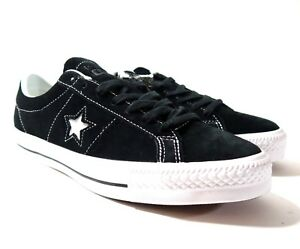 91b1395f98b65d New Converse One Star Suede Ox Skateboard Black White 149908C Size ...