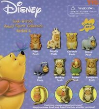 New Tomy Disney Winnie The Pooh Peek-A-Pooh Series 5 Dangler Animal Collection