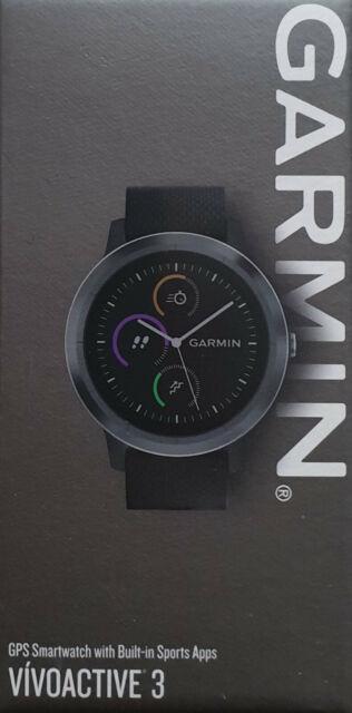 Garmin Vivoactive 3 GPS Smartwatch with Built In Sports Apps (Black) AU Stock