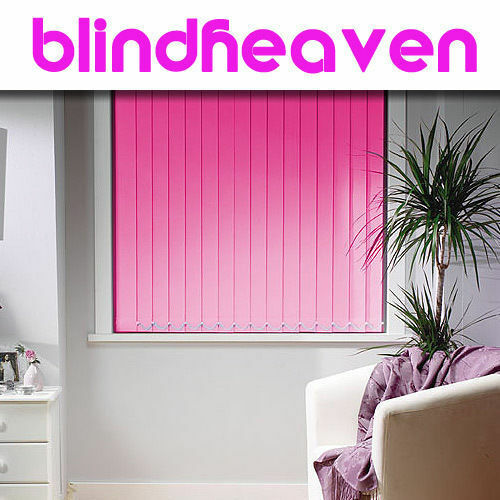 MADE TO MEASURE BLACKOUT VERTICAL BLINDS   NOW AVAILABLE IN 29 NEW COLOURS*