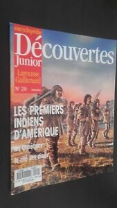 Revista Semanal Dibujada Descubrimientos Junior N º 29 Gallimard Buen Estado