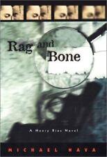 Michael Nava~RAG AND BONE~SIGNED 1ST/DJ~NICE COPY