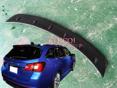 Carbon Fiber 15~19 Subaru Levorg touring wagon STi type trunk spoiler JDM ◎
