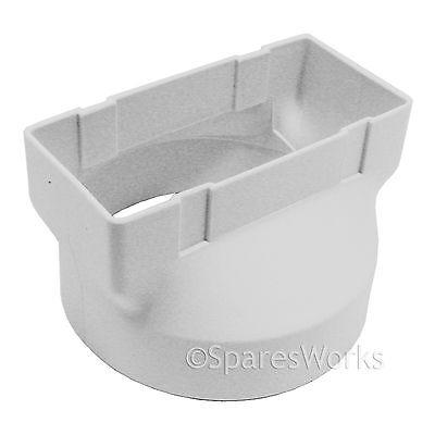 INDESIT Sèche-linge Connecteur pour adaptateur de tuyau de ventilation