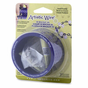 Artistic-Wire-3D-Bracelet-Jig-with-Pegs-and-Holder-Tubes