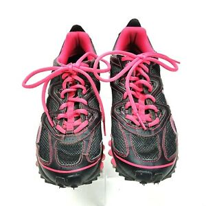 f49a23675f9e5 Adidas TR 2 Trail Running Sneakers Shoes Women 8.5 Pink Black Tennis ...