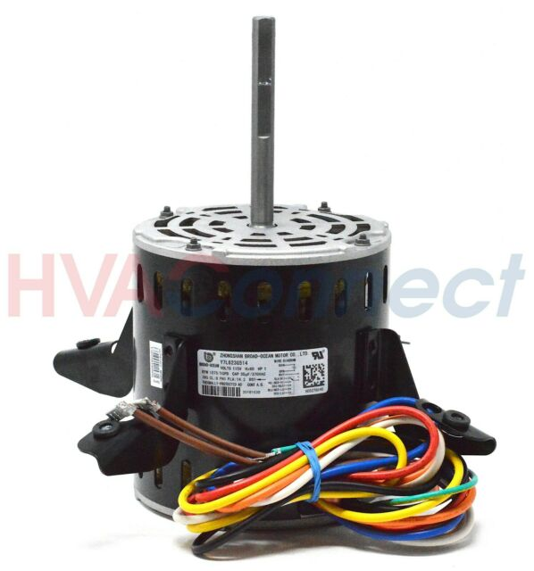 Heil Quaker 115v1ph 1hp 1075rpm 5spd Motor Oem 1186933